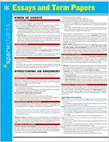 amazoncom essays and term papers sparkcharts   amazoncom essays and term papers sparkcharts  sparknotes  books