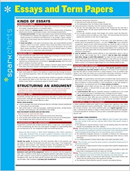 Amazoncom Essays And Term Papers Sparkcharts   Essays And Term Papers Sparkcharts