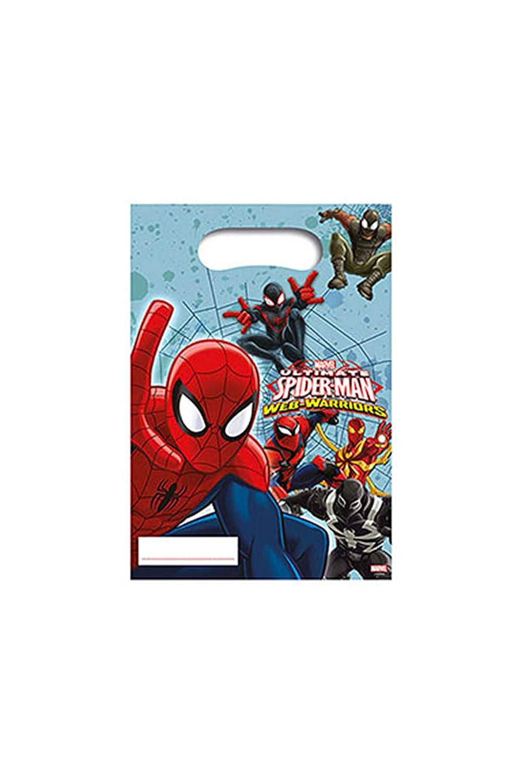PROCOS La Mejor Spiderman - 6 Bolsas de Fiesta: Amazon.es ...