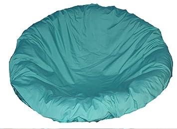 Merveilleux Teal Papasan Cushion Cover