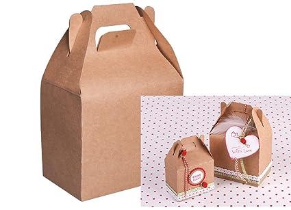 4 Medium Kraft Food Safe Gift Boxes To Decorate