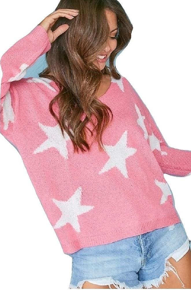 Assorted Colors Peach Love California Star Sweater