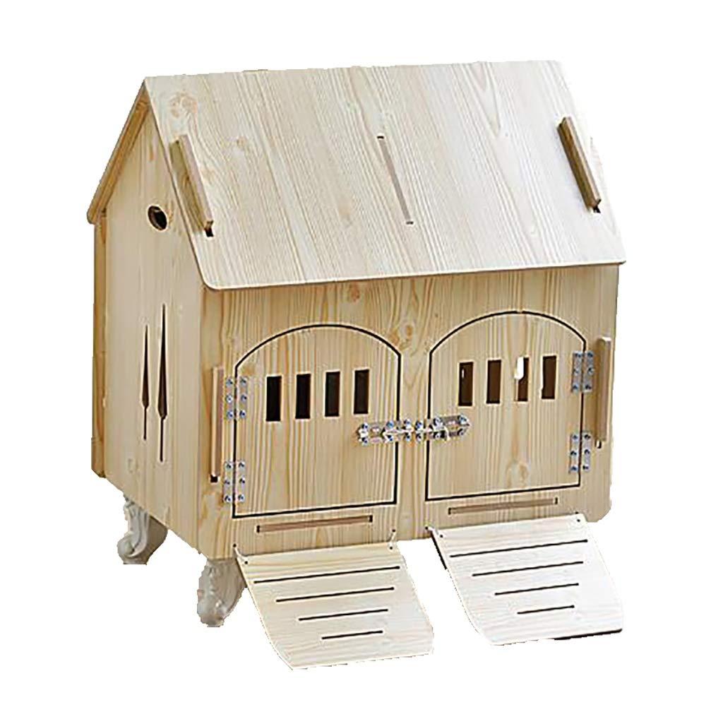 ペットハウス 猫の巣犬小屋ペットハウス中小ペットの巣配達室ペット用品防水防湿簡単お手入れ収納可能 (色 : B, サイズ さいず : 61*44*56CM) B07NN9KBD7 B 79*55*70CM 79*55*70CM|B