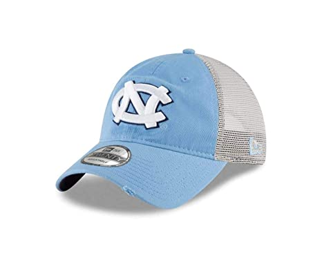 the best attitude dec66 d1714 New Era North Carolina Tar Heels Stated Back 9TWENTY Adjustable Trucker  Hat Cap