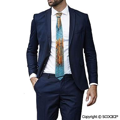 Amazon.com: Corbata de poliéster con diseño de galletas de ...