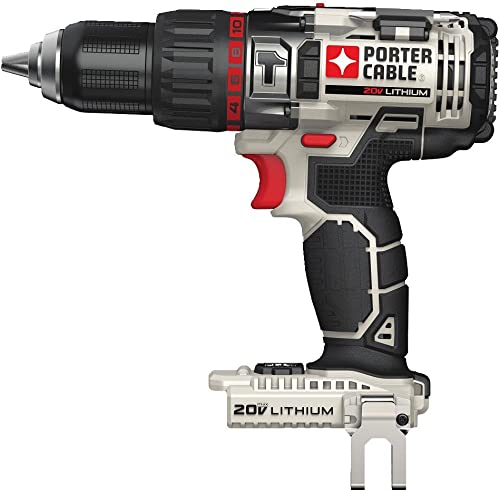 PORTER-CABLE 20V MAX Hammer Drill, Tool Only PCC620B