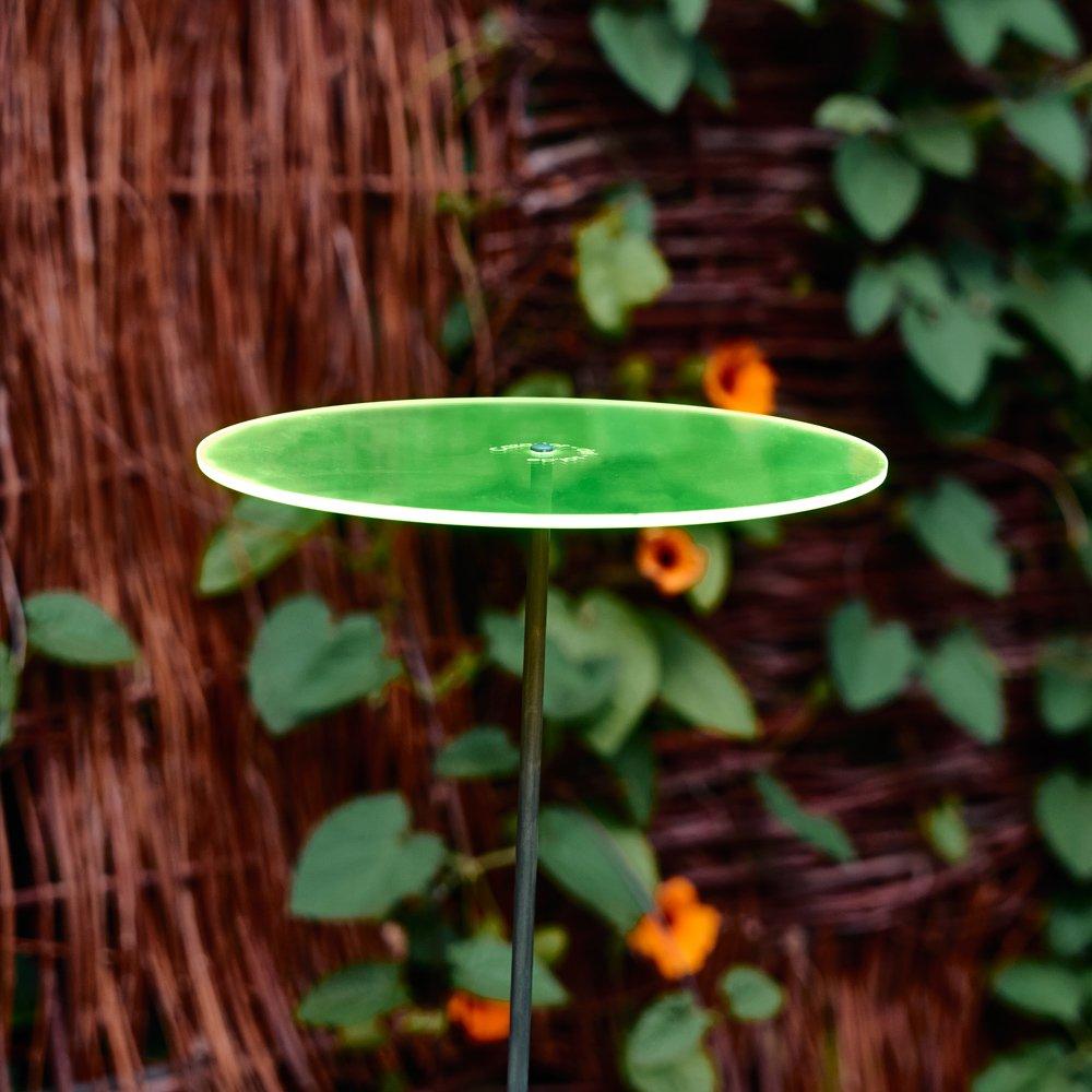Cazador-del-sol - 8'' Suncatcher Set of 3 - Uno - Green by Cazador-del-sol (Image #1)