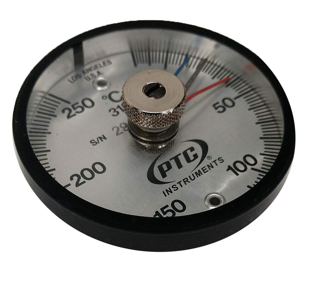 PTC 313CMM Magnetic Surface Thermometer Max-Min Hands -20° to 250°C
