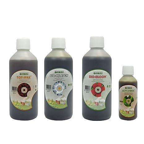 BioBizz - Pack abono Hydro 500 ml: Amazon.es: Jardín