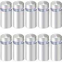 HSEAMALL - 10 tornillos de soporte de cristal