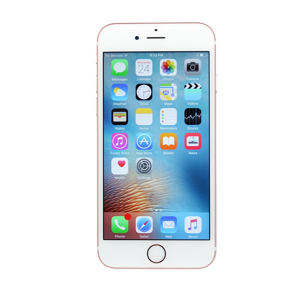 Apple iPhone 6s Plus 16GB Unlocked GSM 4G LTE Dual-Core Phone - Rose Gold (Renewed) by Apple