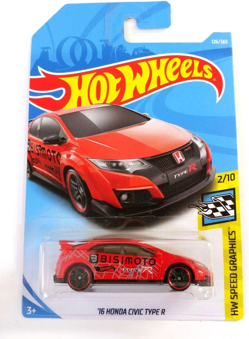 126//365 Hot Wheels 16 Honda Civic Type R HW Speed Graphics 2//10