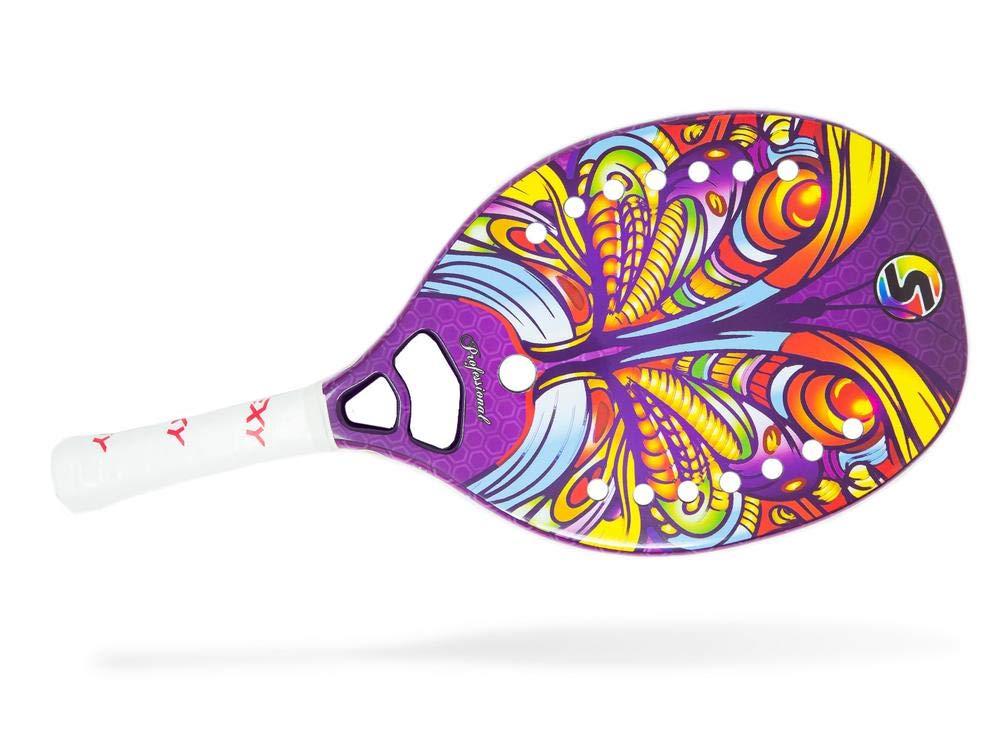 Amazon.com: Pala de tenis de playa con mariposa II: Sports ...