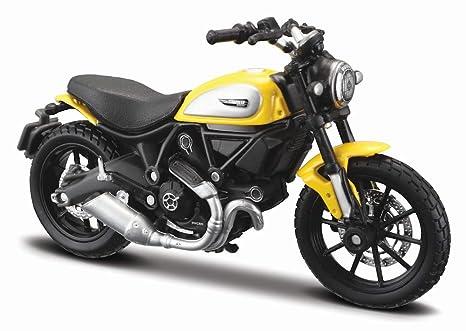 Maisto 14174 Moto Ducati Scrambler Amazonit Giochi E Giocattoli