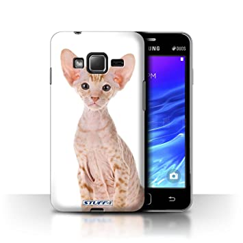 Carcasa/Funda STUFF4 dura para el Samsung Z1/Z130 / serie: Razas de