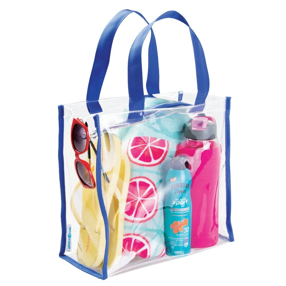 Black InterDesign 05020 Beach Clear//Black Nya Travel Accessories Bag