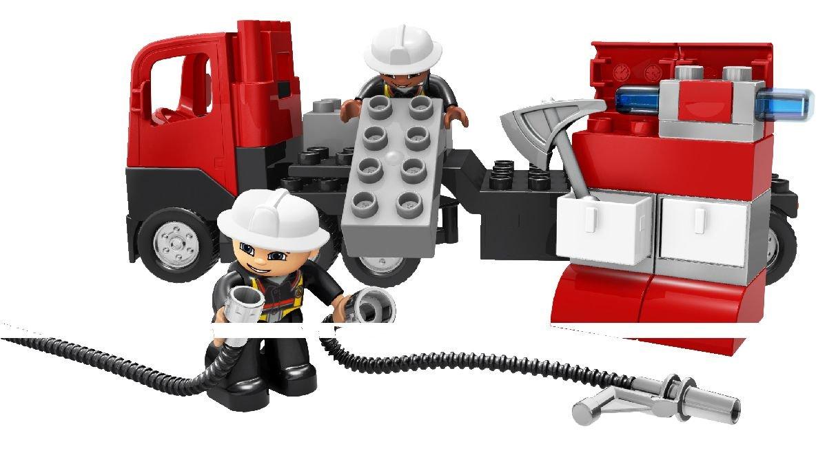 Amazon Lego Duplo Legoville Fire Truck 4977 Toys Games