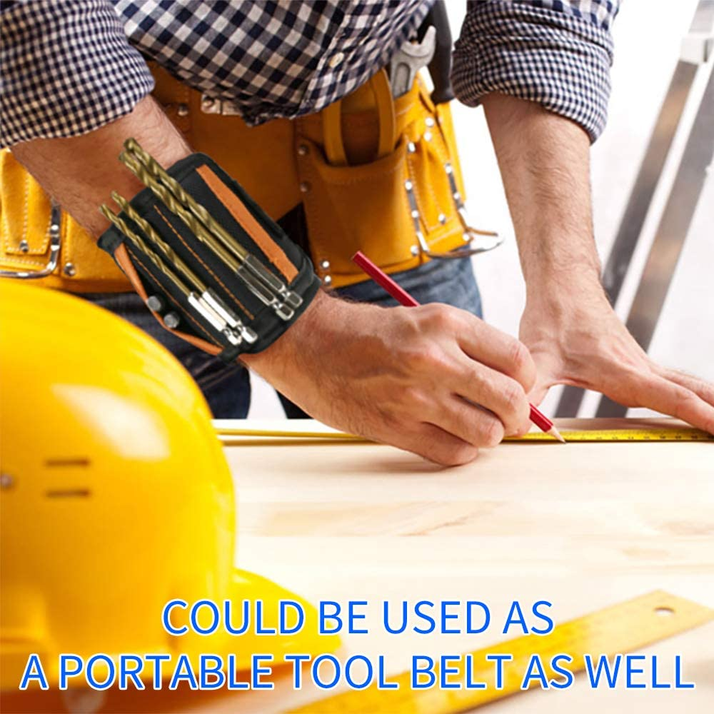 Bestechno Magnetic Wristband with Power Magnets Used for Holding Tools