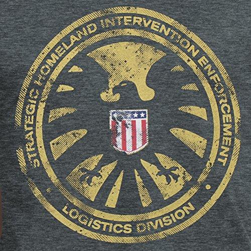 Avengers Herren Avengers S.H.I.E.L.D T-shirt
