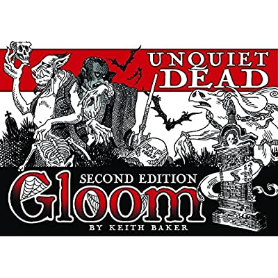 Atlas Gloom Unquiet Dead 2nd Edition: Keith Baker: Toys & Games
