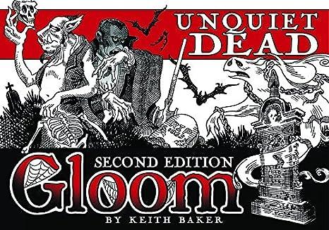 Atlas Games atg01355 - Tarjeta Juegos, GLOOM, unquiet Dead, 2 nd ...