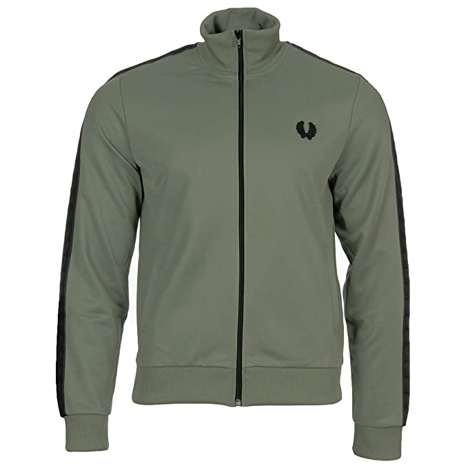 Fred Perry Tonal Taped Track Jacket, Chaqueta deportiva - L ...