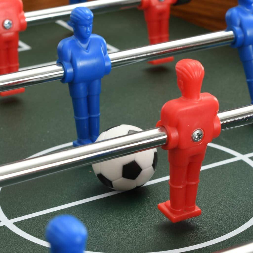 UBaymax Juego de Mesa de Fútbol,Futbolin Juego de Tablero de Mini,Futbolín Madera sobremesa,69x37x62 cm,Tamaño 18 Jugadores: Amazon.es: Deportes y aire libre