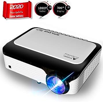 BRILENS Native 1080P Proyector LED 4000 lúmenes Full HD Proyector ...