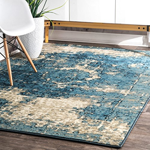 nuLOOM Traditional Vintage Inspired Overdyed Fancy Rug, 5' 11