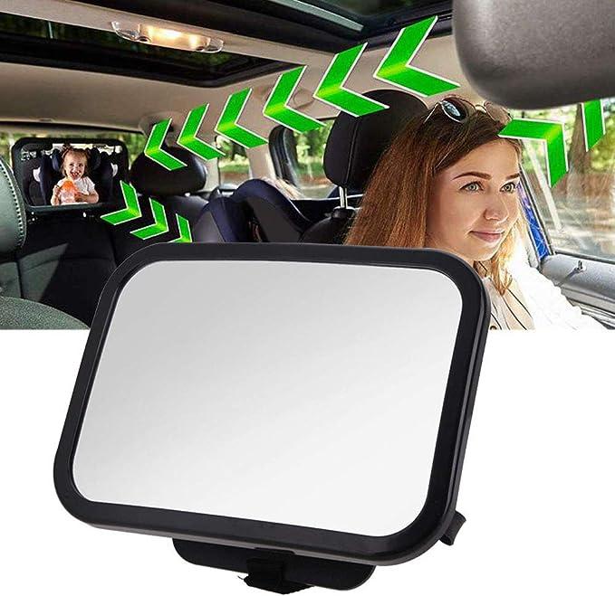 Rücksitzspiegel Für Babys 360 Verstellbar Rückspiegel Für Neugeborene Und Junge Kinder Crash Getestet Und Zertifiziert Für Sicherheit Auto