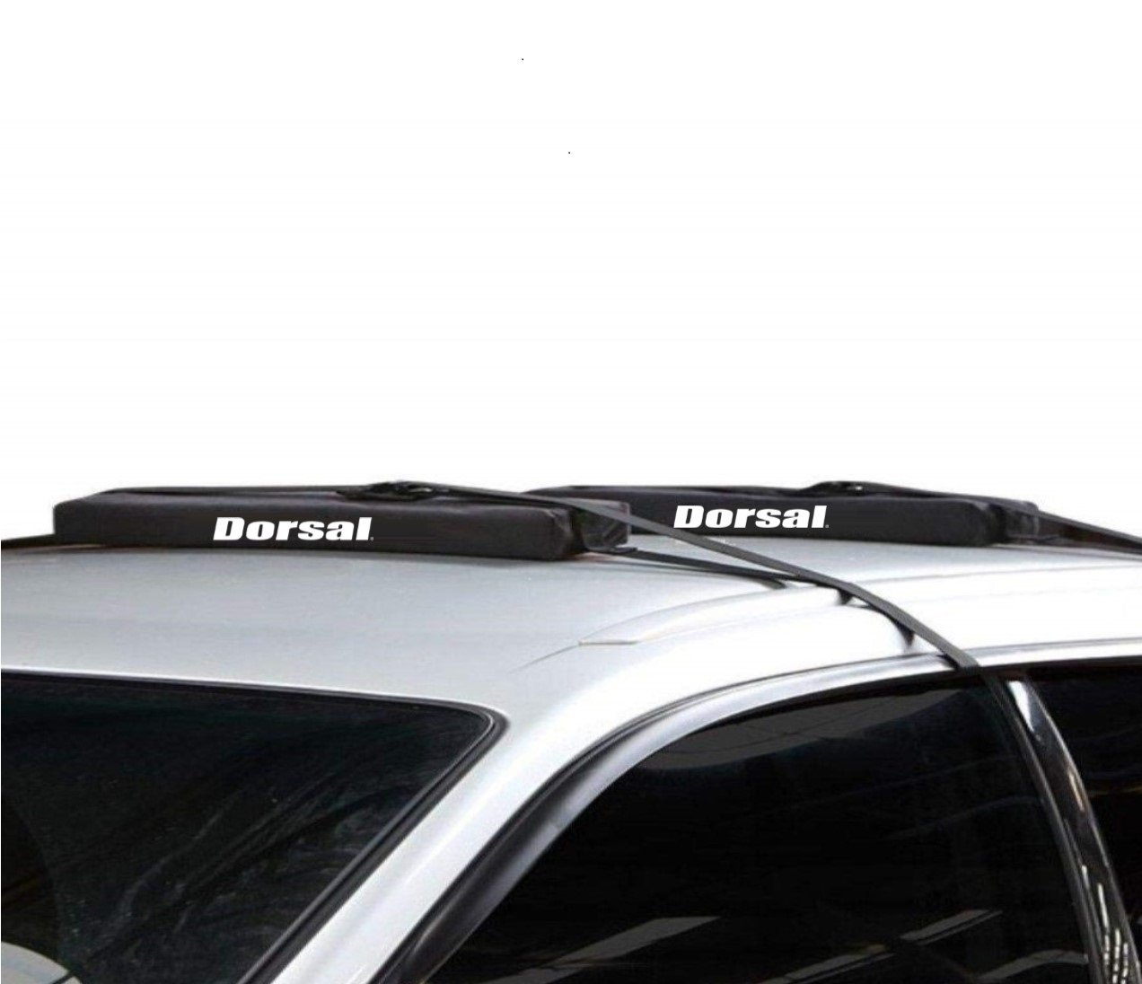 LONG for Kayaks SUP Dorsal Wrap-Rax Deluxe Surfboard Longboard Soft Rack Pads Straps 28 Inch