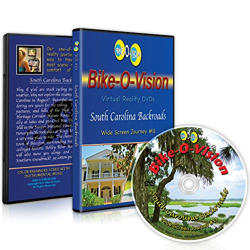 Bike-O-Vision Cycling Video- South Carolina Backroads (WS #11) [Blu-ray]