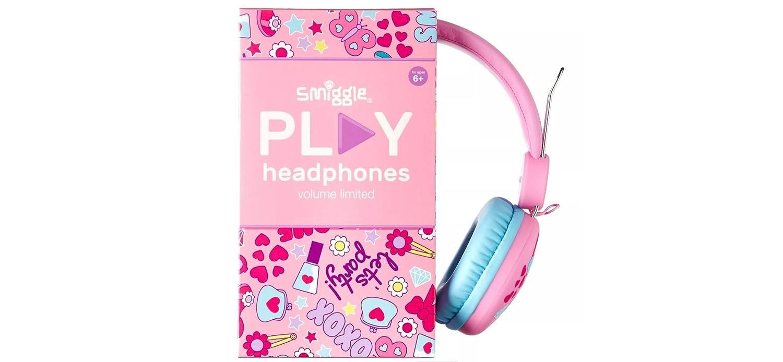 high fashion latest on feet images of Smiggle Snaps Play Headphones: Amazon.co.uk: Electronics