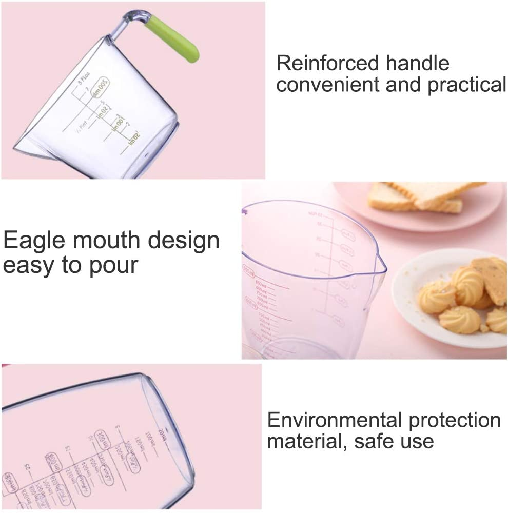 Measuring Cup Plastic,Measuring Cup Set,Measuring jug,Measuring Cup Transparent,Measuring Cup Kitchen,Clear Measuring Cups,Heat Resistant Measuring Cup