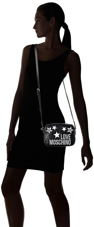 Love Moschino dam Jc4100pp1a axelväska Svart (nero)