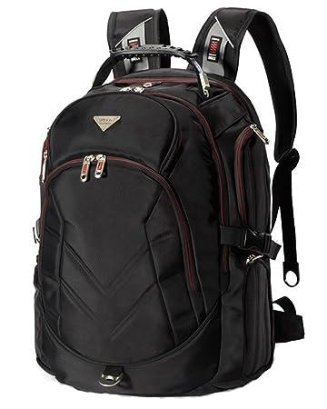Amazon.com: Laptop Backpack 17 Inch,FreeBiz Nylon Water-Resistant ...