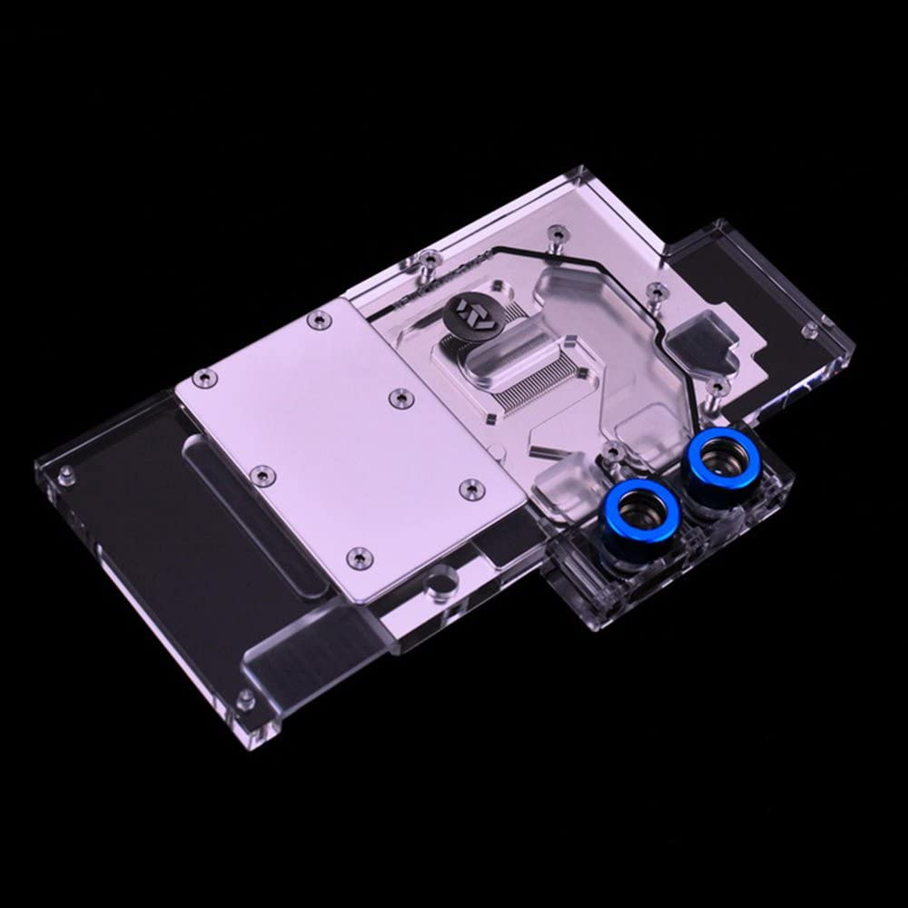 Bykski VGA GPU RGB LED Water Cooling Block for Foundation Version RX580