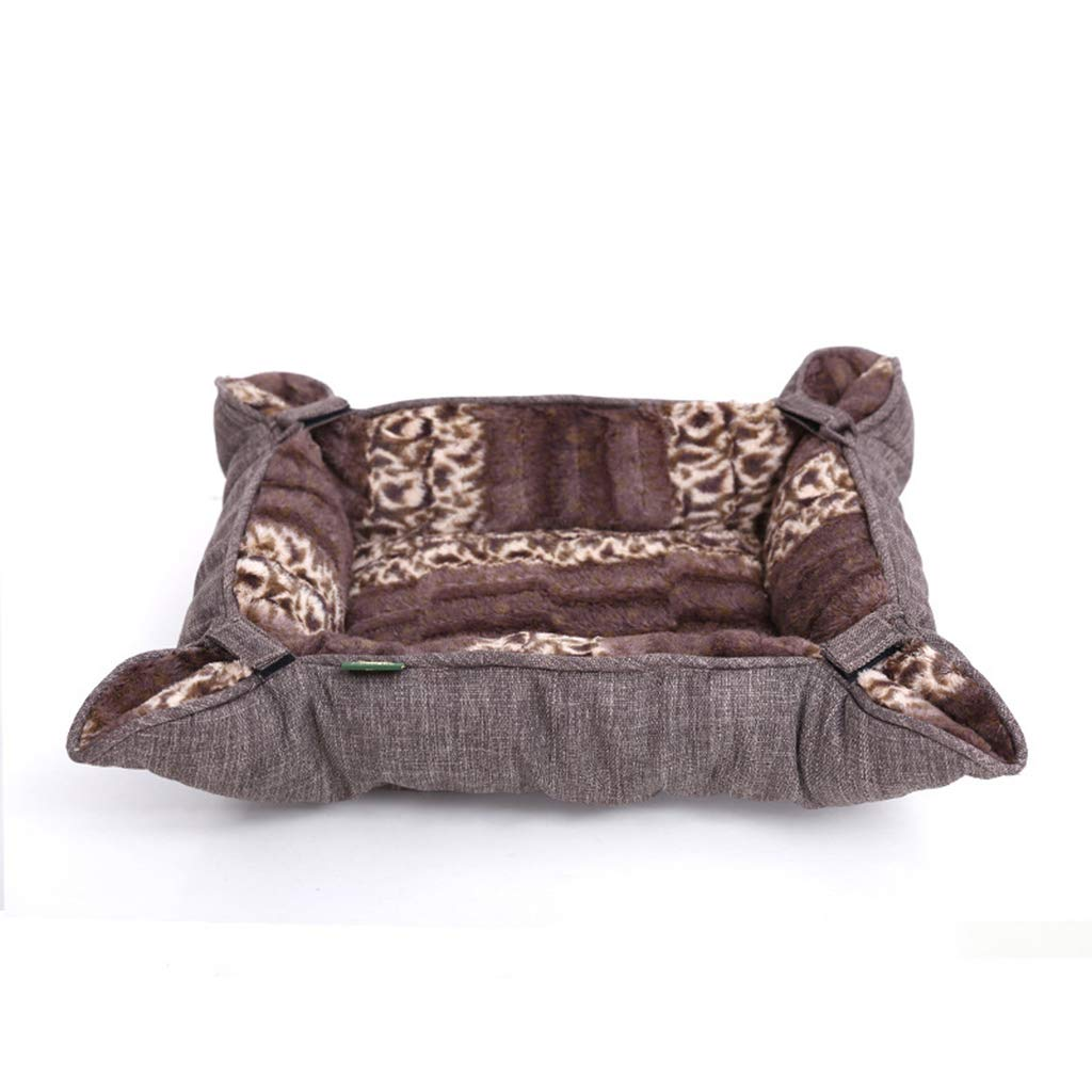 S PLDDY pet bed Pet Bed, Pet Nest, Creative Kennel Cushion Cage, Autumn and Winter Variable Nest (Size   S)