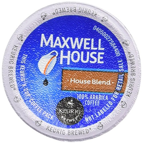 Maxwell House, Cafe Collection, House Blend, Medium Roast, 100% Arabica Coffee K-cup®, 18 Count, 5.57oz Box(Pack of 2)