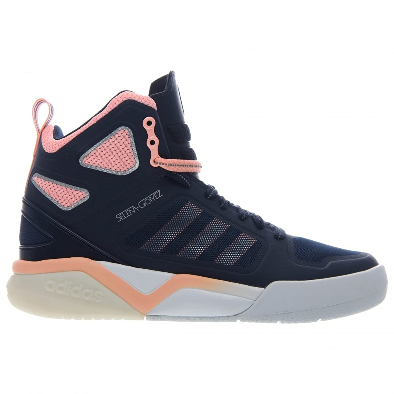 adidas Women's Neo Selina Gomez Bb95 Mid Trainers in Collegiate Navy:  Amazon.co.uk: Shoes & Bags