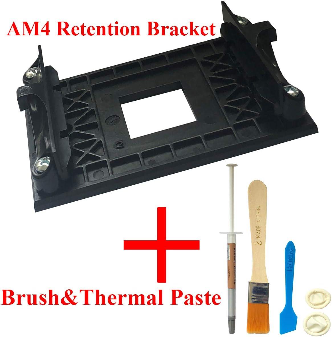 CPU cooler retention mount bracket kit w//4 screws socket AMD AM2 AM3 motherbo Lp