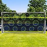 Forza Pro 12' x 6' Soccer Goal, Target Trainer & Net
