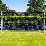 Cheap Net World Sports Soccer Goal Targets. Pro Soccer Target Sheets. Great for Soccer Practice. Select Your Size! (12′ x 6′)