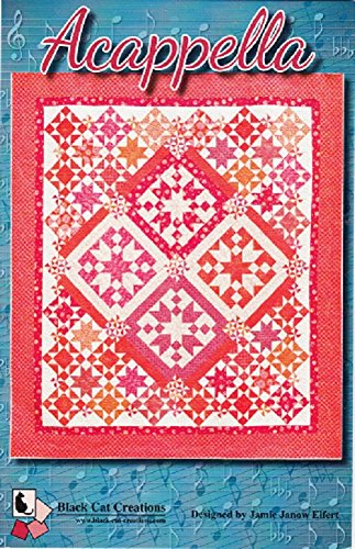 Acappella Quilt Pattern Designed by Jamie Janow Elfert from Black Cat Creations 84