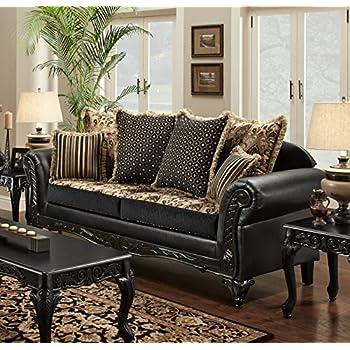 Amazon Chelsea Home Furniture Gwendolyn Sofa Monte Carlo