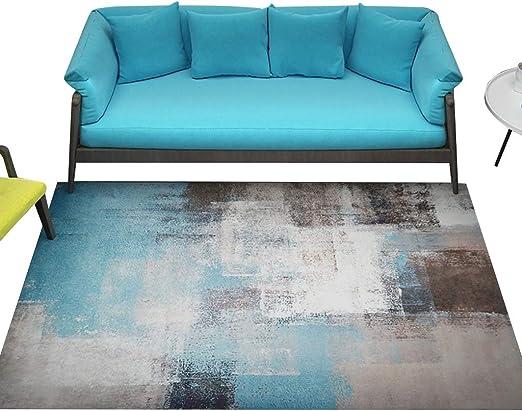 Amazon.com: Textile Rug C-Bin-1 Blue Carpet, Area Carpet ...