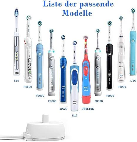 für Braun Oral-B Vitality Plus Cross Action Zahnbürste Netzteil Ladestation