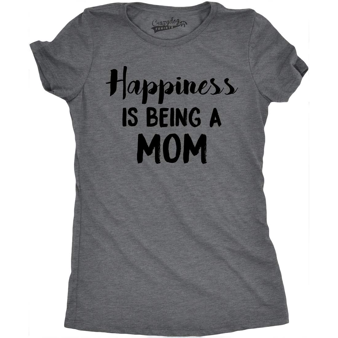 Happiness Is Being A Mom Tshirt Funny Mothers Day Family Tee