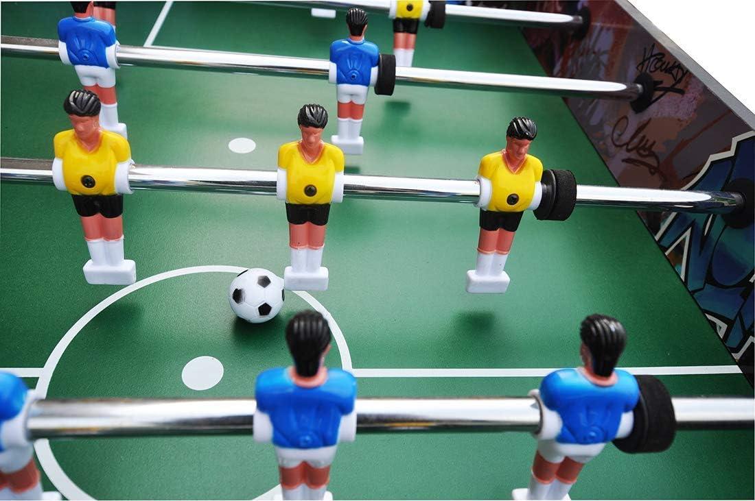 YUHT Futbolín Infantil,Mesa de futbolín,Juegos de Mesa de futbolín ...