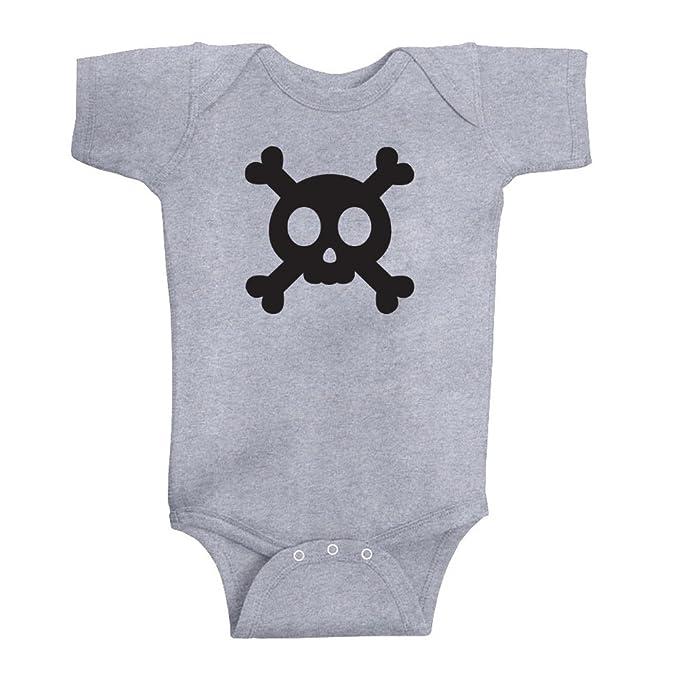 Amazon Com Pirates Anchors Skull Crossbones Baby Bodysuit Clothing